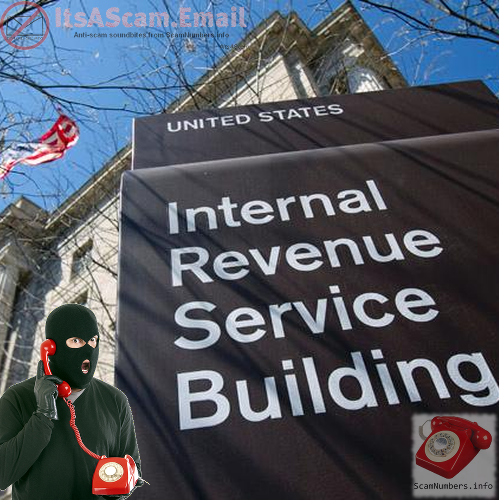 ItsAScam.email - IRS calling you to demand immediate payment or you'll be jailed? #IRSPhoneScam