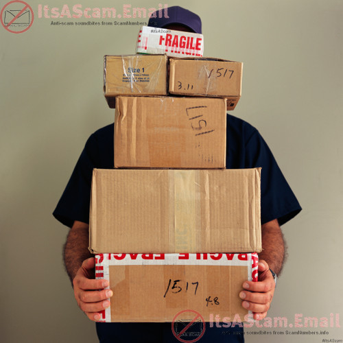 ItsAScam.email - New job as a reshipping clerk? No, actually, you're receiving and shipping stolen goods!!! #ItsAScam